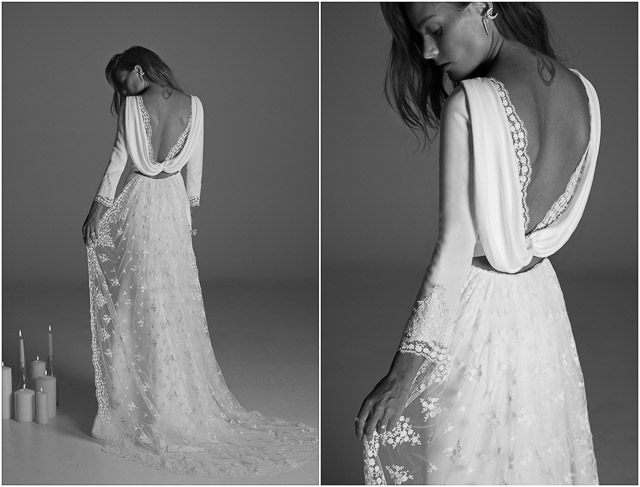 bodas blog vestido novia boho barcelona wedding bride dress rime arodaky