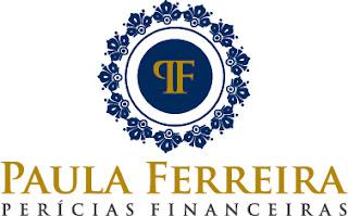 Criação Logotipo Paula Ferreira Perícias Fianceiras