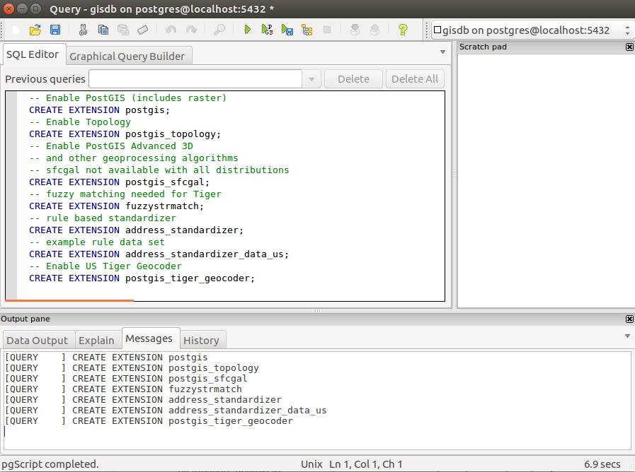 Instalar PostGIS en Linux Ubuntu 16.04 LTS Xenial Xerus