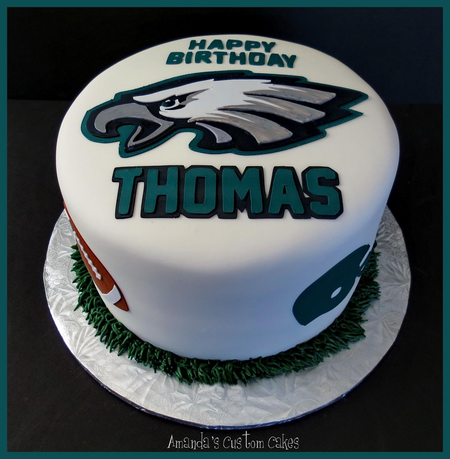 Eagles Football Birthday Cakes
