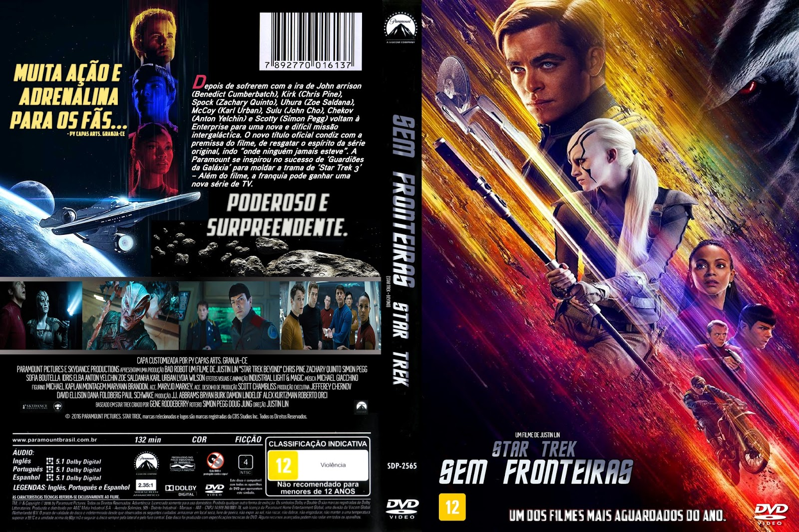 Download Star Trek Sem Fronteiras DVD-R