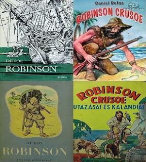 Robinson a hajótöröttes kalandregények klasszikusa
