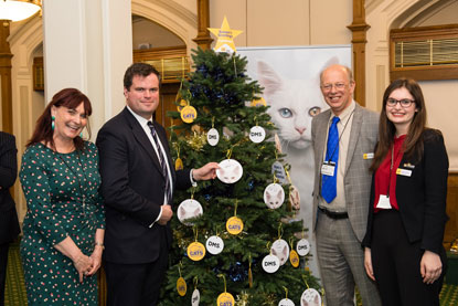 Kevin Foster MP at Cats Protection Christmas event