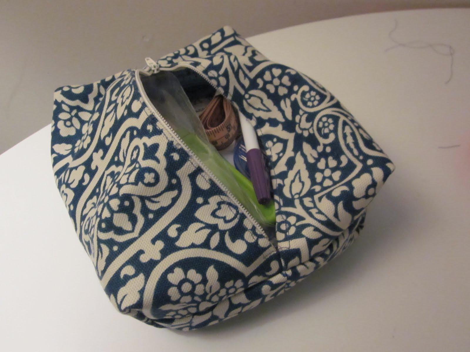 The Crafty Novice Diy Makeup Bag Pt 2