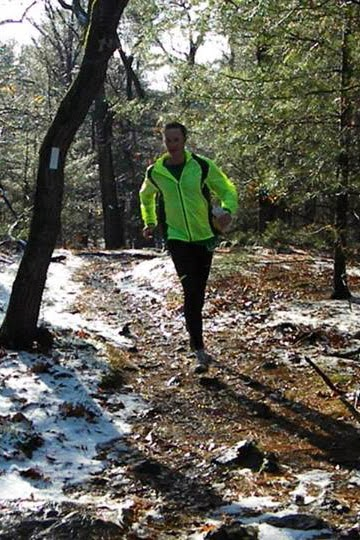 Ben Kimball at the 2013 TARC Fells Winter Ultra 40-Mile