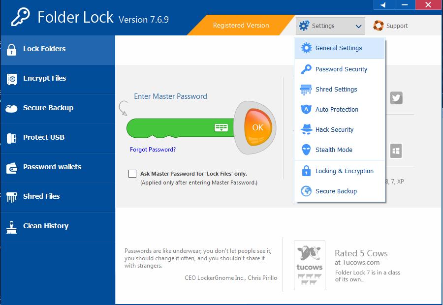 Resultado de imagen de Folder Lock