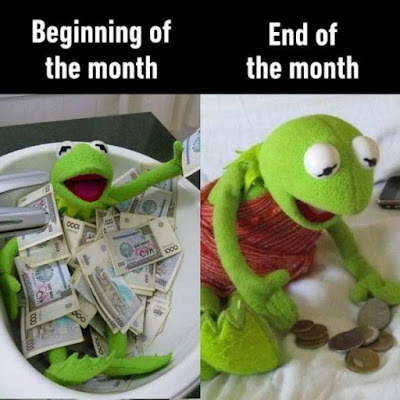 Beginning of the month...