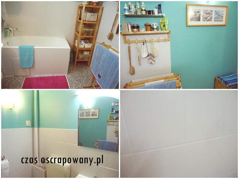 tani remont łazienki, malowanie kafli lepsze niż skuwanie, mniej śmieci