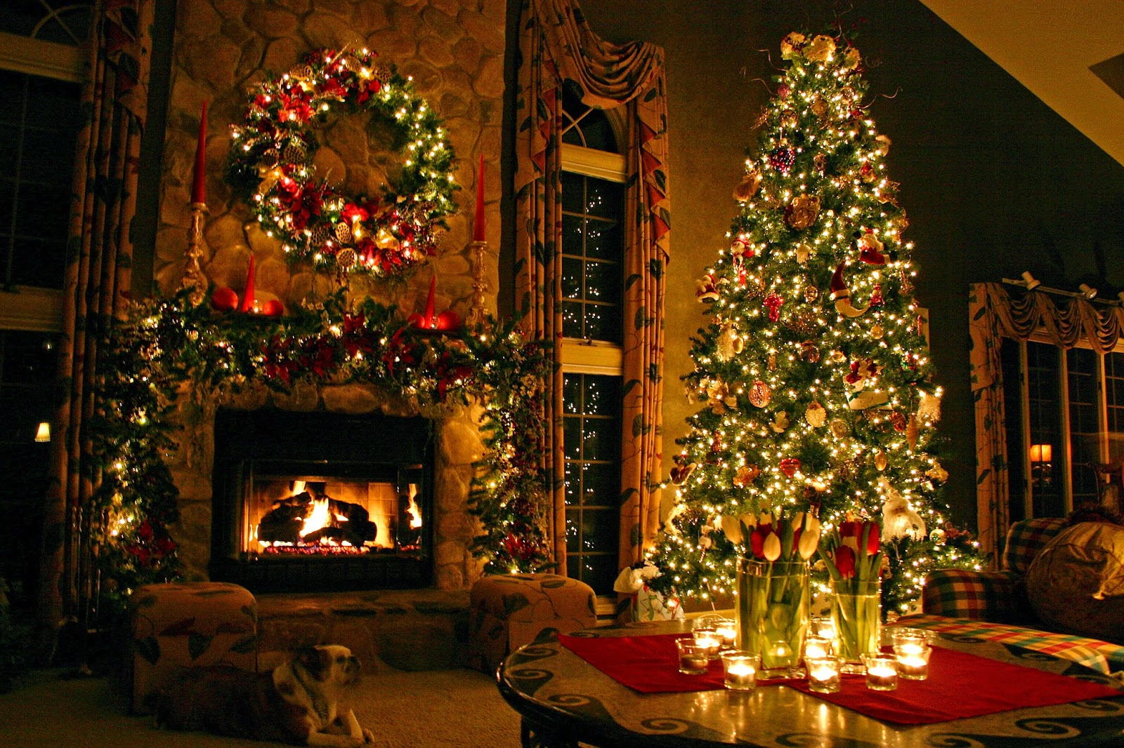Christmas Fireplace Mantel Decoration Ideas For Home Made