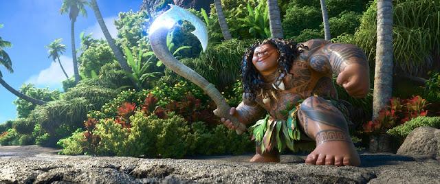 Demigod Maui Tries to Impress 'Moana' in Teaser Trailer