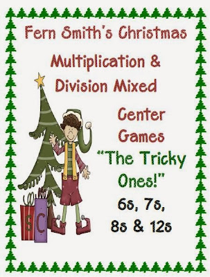 http://www.teacherspayteachers.com/Product/Christmas-Multiplication-Division-Center-Games-The-Tricky-Ones-175259