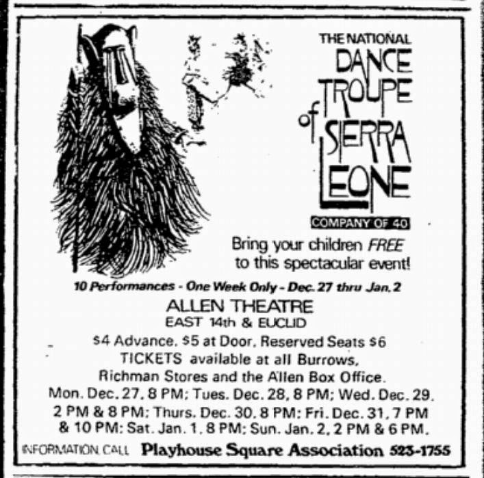 Frank's Place: Playhouse Square Association: The Early Years