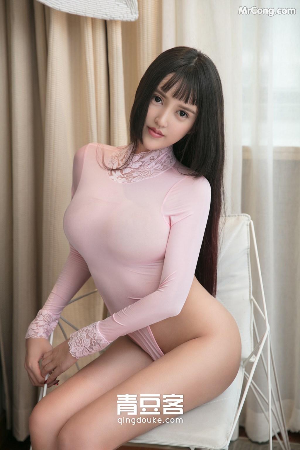 Image QingDouKe-2017-11-16-Bai-Yi-Han-MrCong.com-001 in post QingDouKe 2017-11-16: Người mẫu Bai Yi Han (白一晗) (51 ảnh)