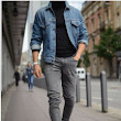 Grey Jeans Is What Women Want to See You Wearing