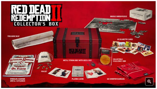 Red Dead Redemption 2 presenta Special Edition, Ultimate Edition y Collector's Box
