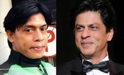 gojek mirip sharukhan, driver gojek mirip sharukan, gojek sharukhan, driver gojek mirip sharukhan