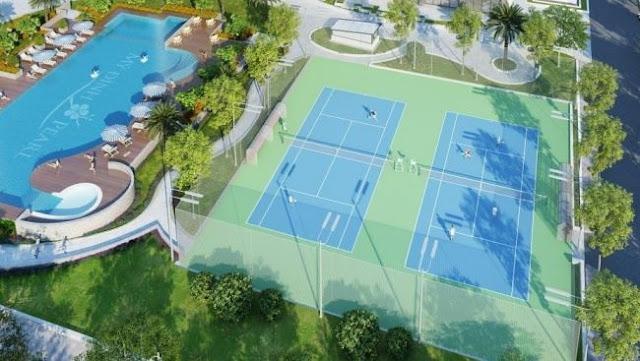 Sân tennis Mỹ Đình Pearl