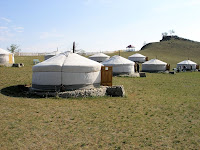 Our Gur camp, Mongolia