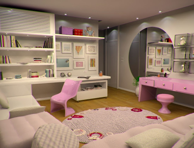 exciting cute girly bedroom ideas | Girly Bedroom Design Ideas - Wonderful