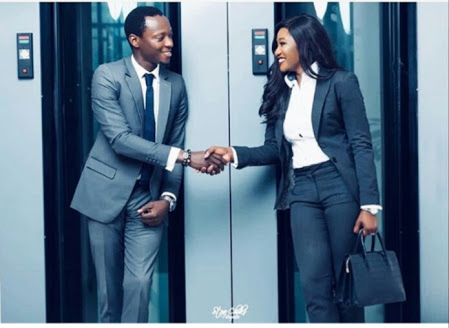 Two Nigerian Bankers Getting Married; See Pre-Wedding Pics