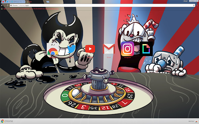 Cuphead Never Deal With Demons Theme FOR Chrome