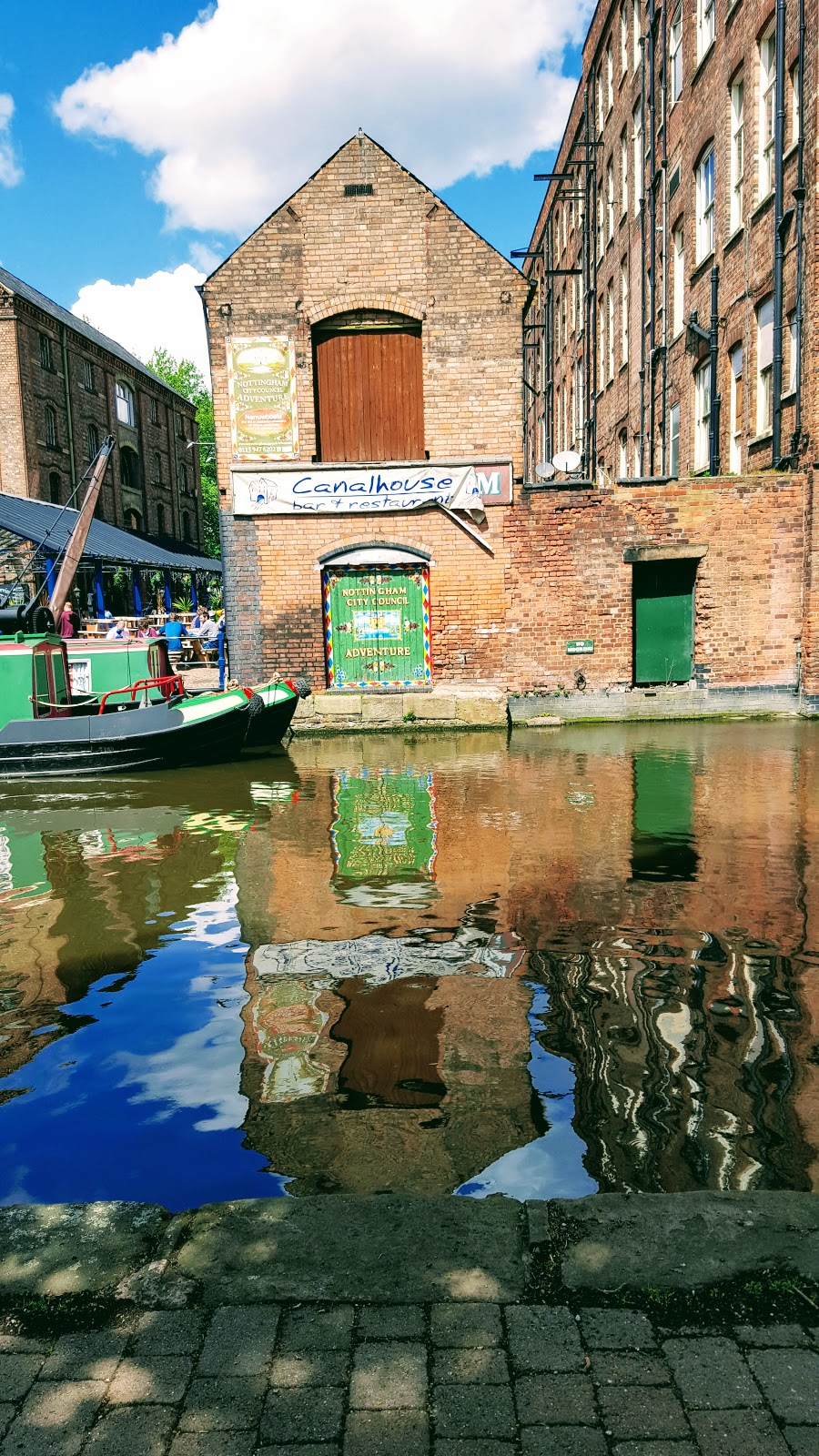 Nottingham Canal: The Wednesday Blog Hop