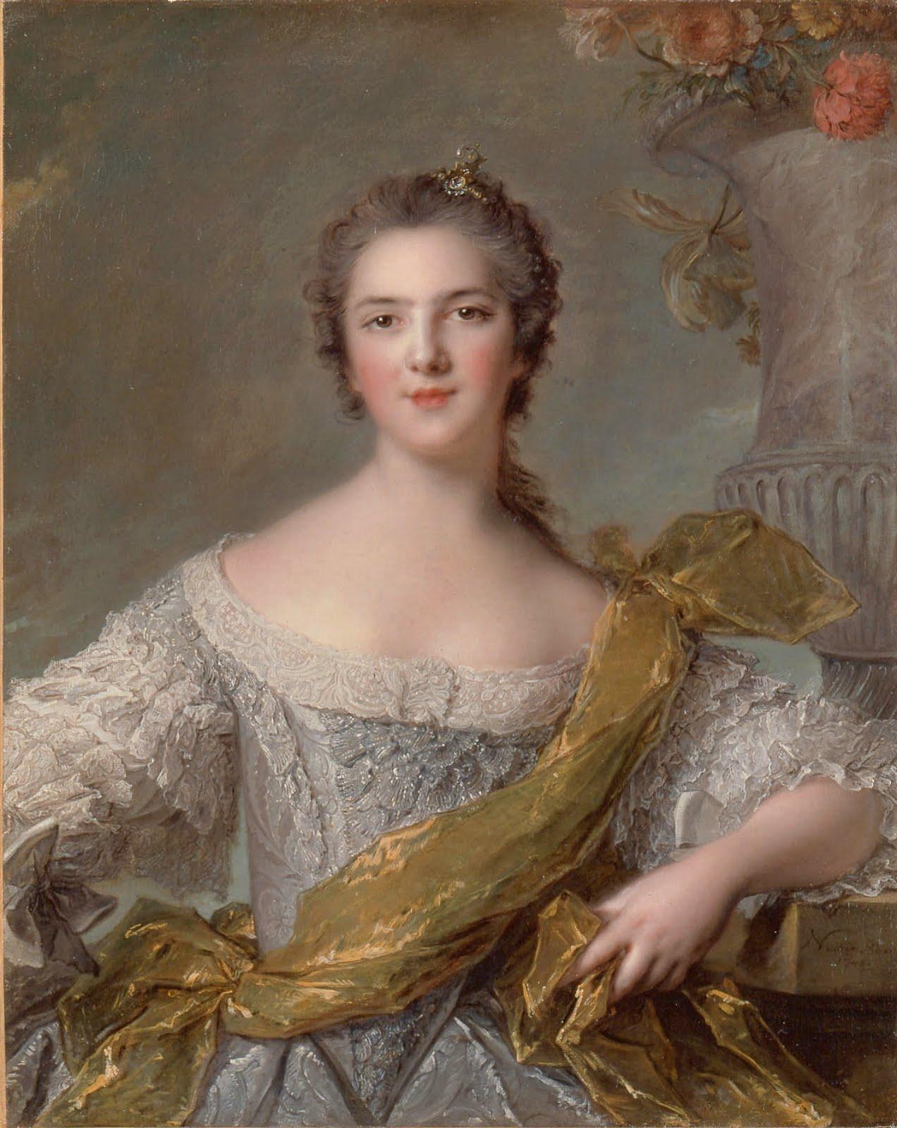 a pre revolutionary flight louis xv s daughters marie victoire of oil on canvas 1748 museacutee national des chacircteaux de versailles et de trianon versailles