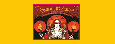 logo from edinburgh scotland beltane fire festical for pagan celebration