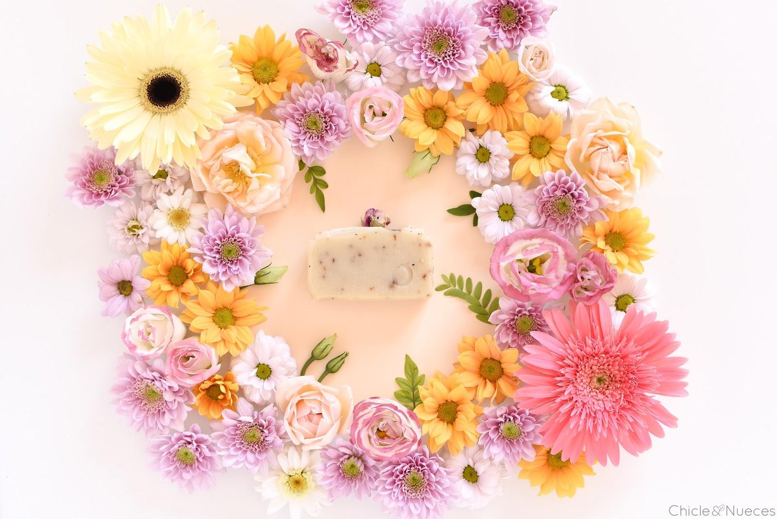 Jabón Rosas y Té Blanco Kia Ora