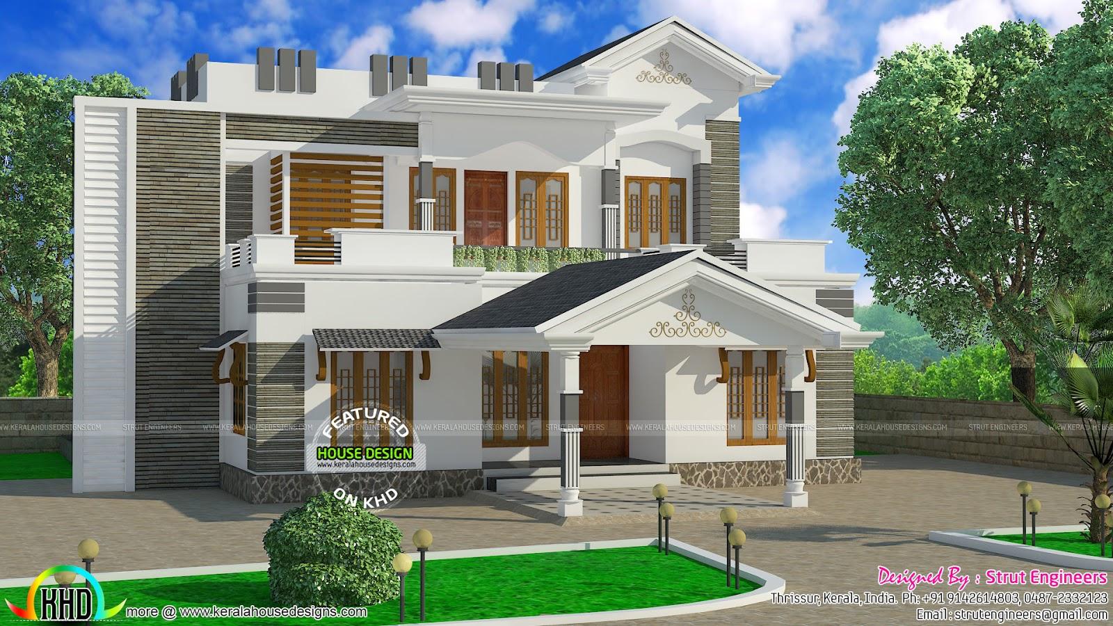 3 bhk modern home in 1575 sq ft kerala home design bloglovin u0027