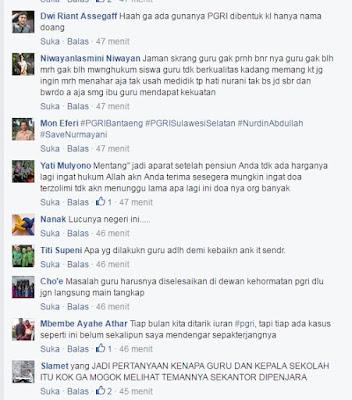 Komentar guru ditahan karena mencubit siswa 7
