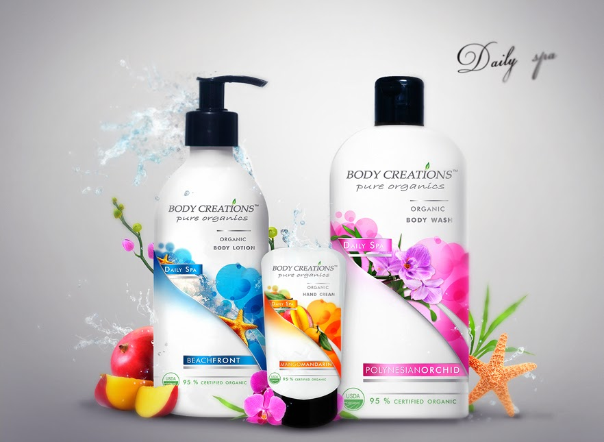 Body Creations Daily Spa on Packaging of the World - Creative ...
