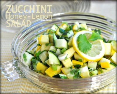 Zucchini Lemon-Honey Salad