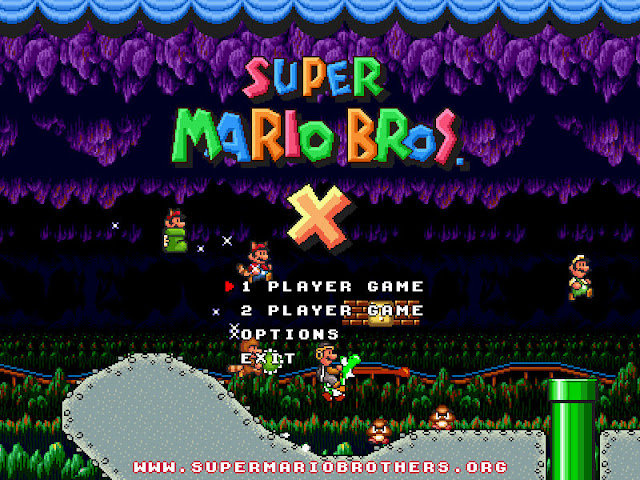 Download Super Mario Bross X Untuk PC Windows