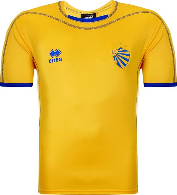 1eb6f46af25e3 Errea apresenta as novas camisas do Pelotas - Show de Camisas