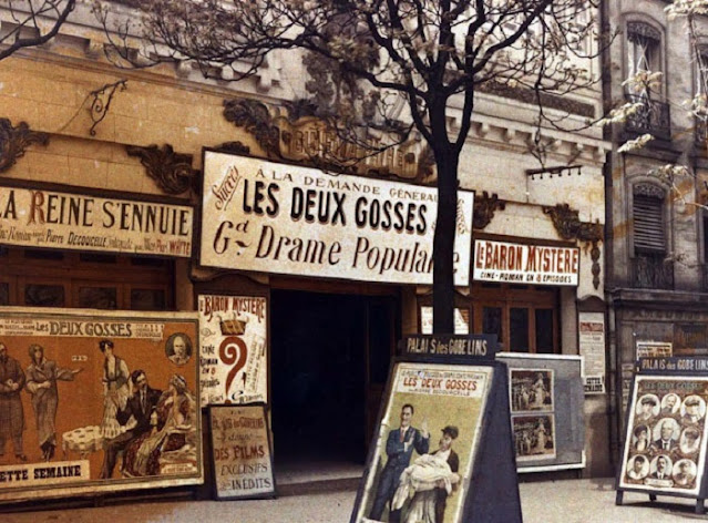 Early 1900s Paris in Colours by Omar Cherif, One Lucky Soul