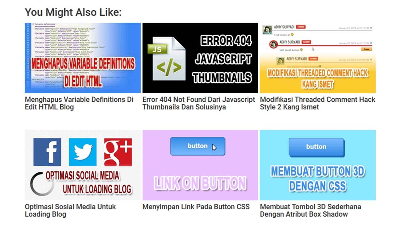 Menggunakan CDN Staticaly Pada Thumbnail Related Post Dari DTE