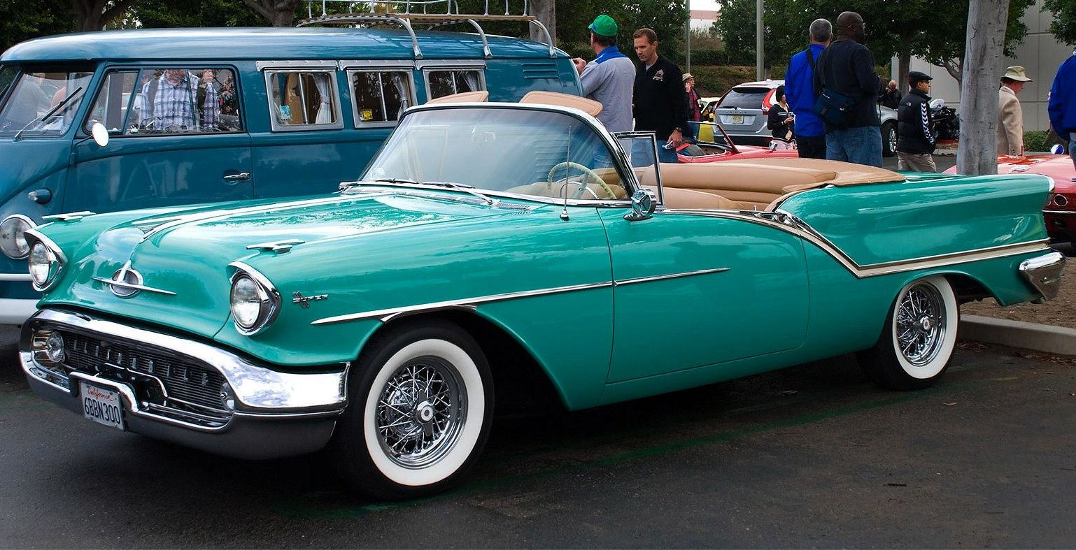 Oldsmobile Cars: Augusto Fornasier: American Cars Of The '50s