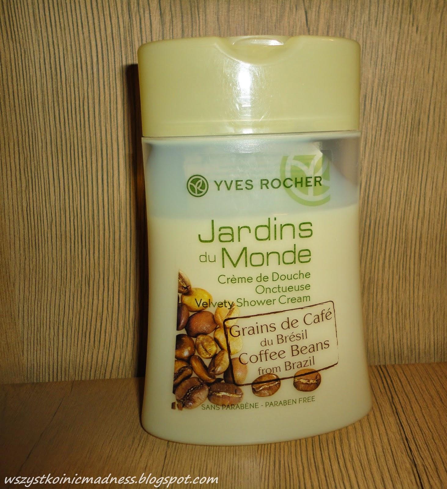 Yves Rocher kawowy żel pod prysznic Jardins du Monde