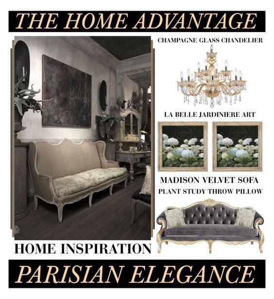 The Home Advantage - Parisian Elegance www.toyastales.blogspot.com #ToyasTales