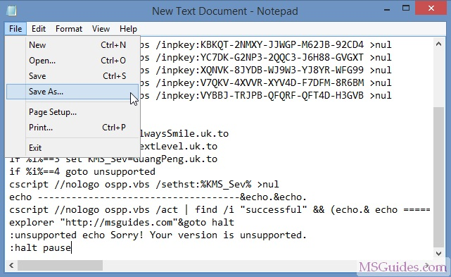 office 365 activate using cmd