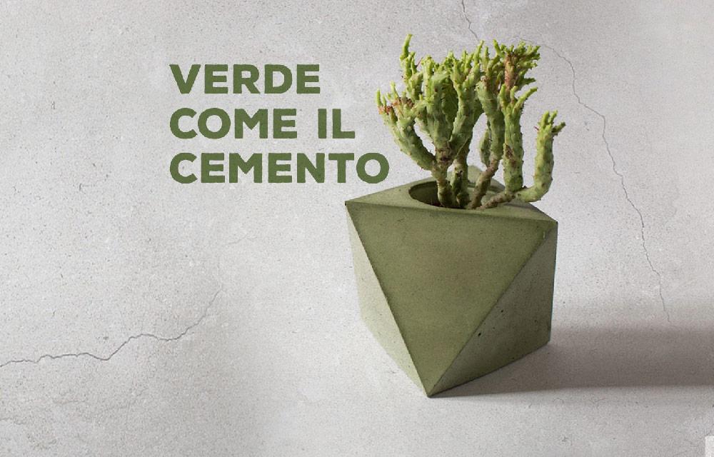 """Anche il cemento può essere """"green"""""""