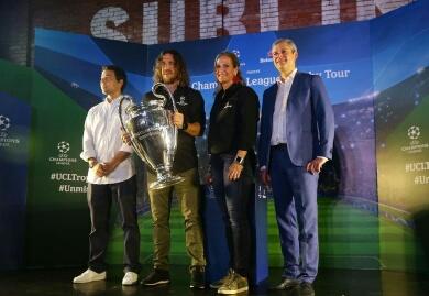 Trofi Liga Champions 'Keliling' Indonesia