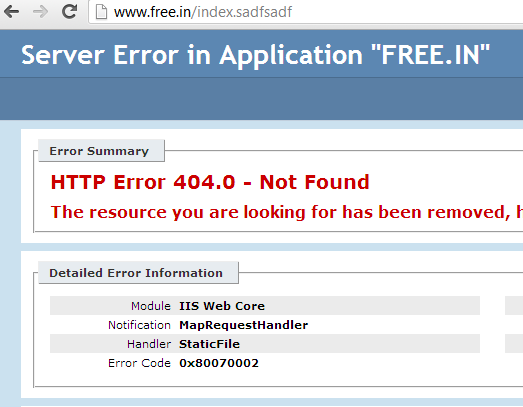 httperrors vs customerrors in webconfig , iis, asp net - ASP