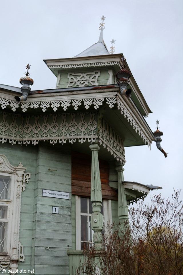 деревянный модерн в россии