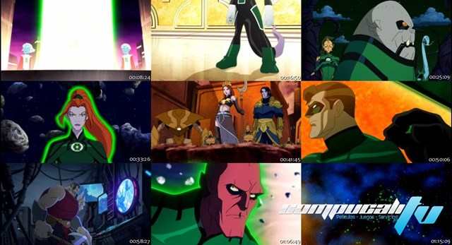 Green Lantern Emerald Knights DVDRip Latino