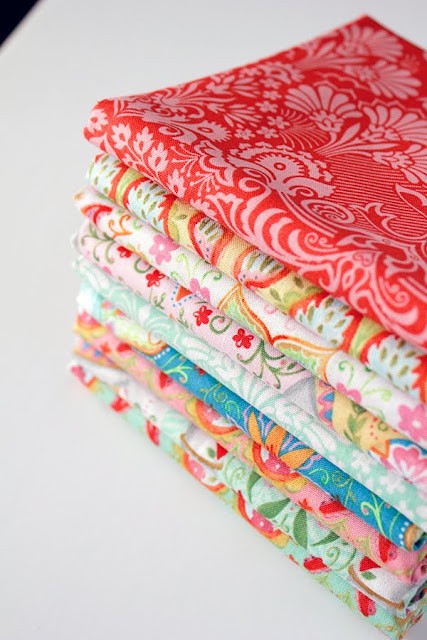 Season of Love fat quarters