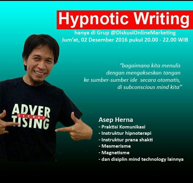 Profil Asep Herna, Praktisi Komunikasi