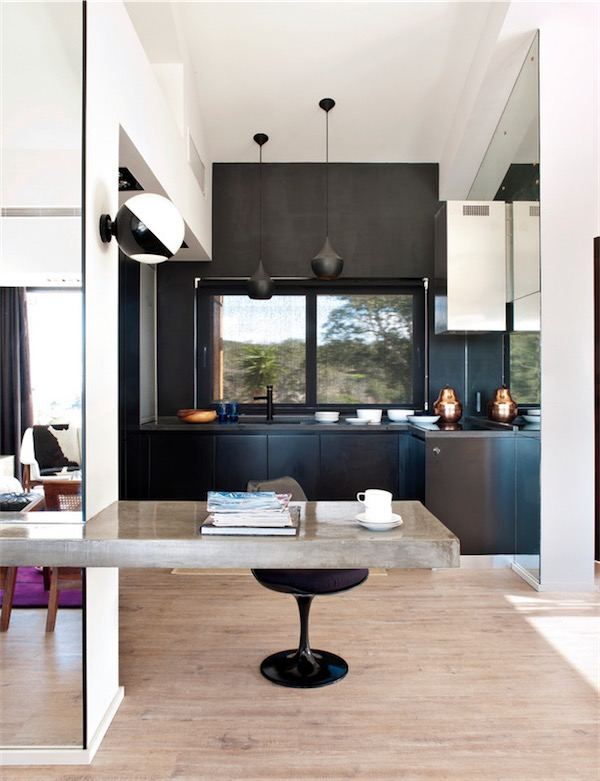 cocina total black chicanddeco