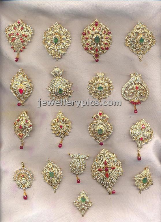 Jada Billa Forehead Pendent Design In Cz Stones Latest